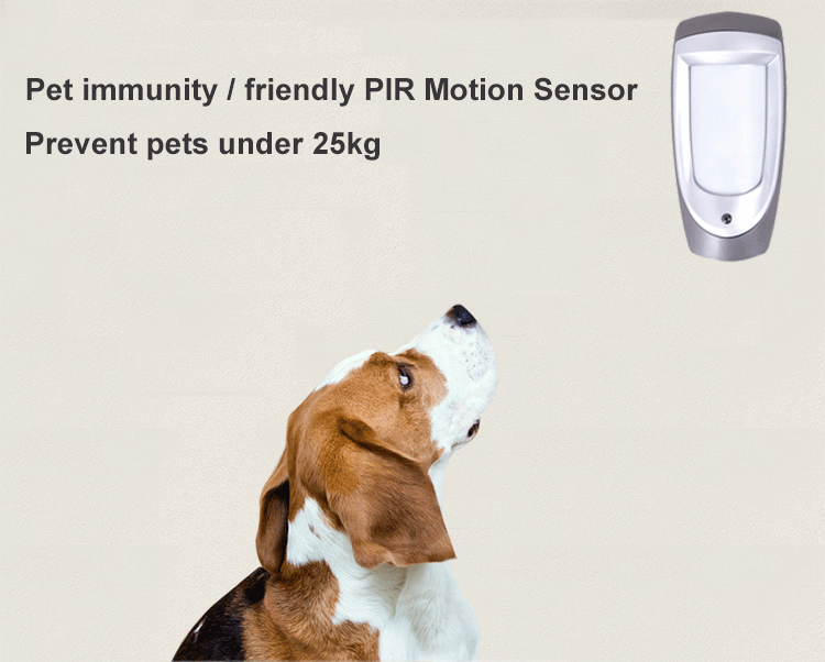 How to work about Pet immune PIR Sensor - Security Burglar